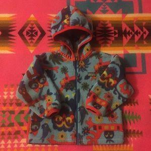 Vintage Patagonia Synchilla Fleece Cardigan Jacket